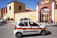 San Cristobal De La Casas Street Scene, Chiapas, Mexiko Lizenzfreies Stockfoto