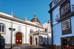 2019-02-22 San Cristobal de la Laguna, Santa Cruz de Tenerife - catedral Nuestra Señora de los Remedios - imágenes del imagen de archivo libre de regalías