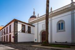 2019-02-22 San Cristobal de la Laguna, Santa Cruz de Tenerife - catedral Nuestra Señora de los Remedios - imagens do fotos de stock