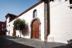 2019-02-22 San Cristobal de la Laguna, Santa Cruz de Tenerife - iglesia de San Juan Bautista o de Las Clarisas - imágenes del fotografía de archivo