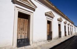 San Cristobal De Las Каса, Мексика 29-ое декабря 2018: Улицы и красочные здания в San Cristobal стоковая фотография