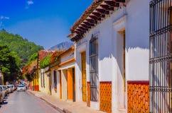 SAN CRISTOBAL DE LAS CASAS, ΜΕΞΙΚΌ, 17 ΜΑΐΟΥ, 2018: Είναι μια πόλη που βρίσκεται στη μεξικάνικη κατάσταση Chiapas Η πόλη ` s Στοκ Εικόνες