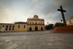San Cristobal de Las Casas, Chiapas, igreja de México fotos de stock