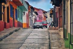 San Cristobal de Las Casas i Mexico Arkivfoton