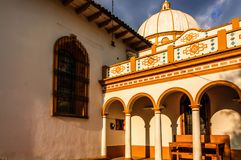Guadalupe church, San Cristobal de las Casas, Mexico royalty free stock photo