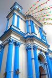 San cristobal de las casas V. Ancient Church at San Cristobal de las Casas, Mexican State of Chiapas royalty free stock photography