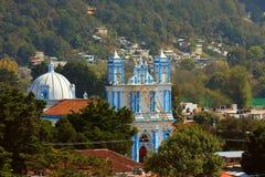San cristobal de las casas VIII. Aerial view of San Cristobal de las Casas, Mexican State of Chiapas stock photography