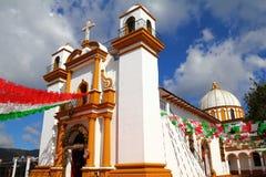 San cristobal de las casas XI. Guadalupe church in San Cristobal de las Casas, Mexican State of Chiapas royalty free stock image