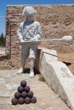 San Cristobal Fort soldier statue Stock Photos