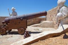 San Cristobal Fort soldier statue Stock Photo