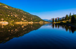 San Cristobal Lake Reflections Colorado Bliss Mirror Royalty Free Stock Image