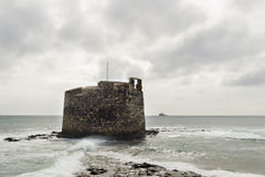 San Cristobal Old Castle Stock Image
