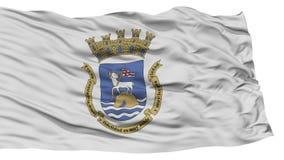 San d'isolement Juan City Flag Photo stock