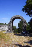 San Damiano arch at carsulae Royalty Free Stock Photo