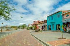 San de cristobal Galapagos stock foto