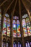 San Denis Cathedral, Parigi fotografia stock libera da diritti