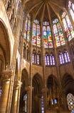 San Denis Cathedral, Parigi immagini stock libere da diritti