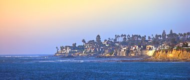 San Diego. Water front in San Diego, California stock image