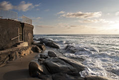 San Diego. La Jolla Beach, San Diego, Landscape Stock Photo