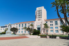 San Diego Administration Building foto de stock royalty free