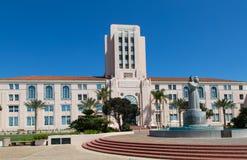 San Diego Administration Building Royaltyfria Bilder