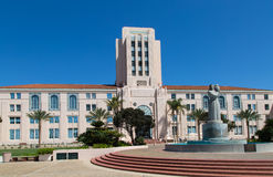 San Diego Administration Building Royalty Free Stock Images