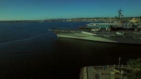 San Diego Aerial stock video footage