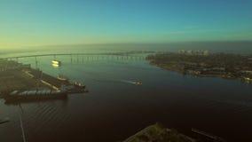 San Diego Aerial stock video