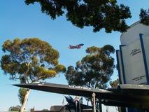 San Diego Aerospace Museum Royalty-vrije Stock Foto's