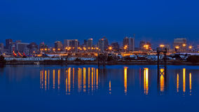 San Diego Airport e skyline Imagem de Stock Royalty Free
