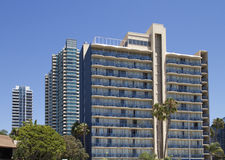 San Diego Apartments Hotel stock photo