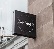 San Diego Apparel America's Finest City Royalty Free Stock Images
