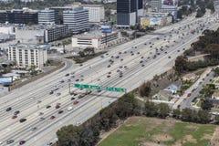San Diego 405 autostrada w Los Angeles zdjęcie stock