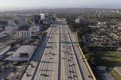 San Diego 405 autostrady antena obrazy royalty free