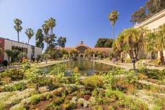 San Diego Balboa Park Botanical Building em San Diego imagens de stock royalty free