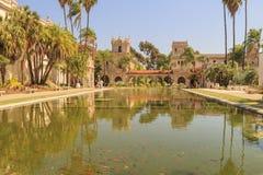 San Diego Balboa Park Botanical Building at San Diego Royalty Free Stock Images
