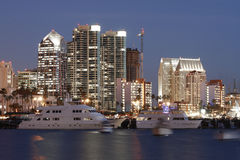 San Diego Bay,Ca, skyline Stock Photo