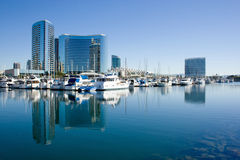San Diego Bay and harbor Stock Photos