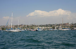 San Diego Bay looking North Stock Photography