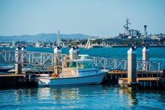 San Diego Bay Marina Royalty Free Stock Photos