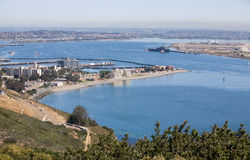 San Diego Bay Overlook Royalty Free Stock Photography