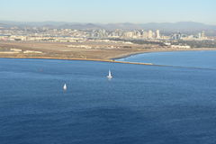 San Diego Bay Stock Photo