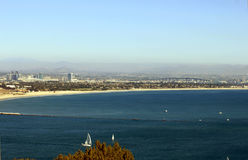 San Diego Bay from Pt Loma Royalty Free Stock Images