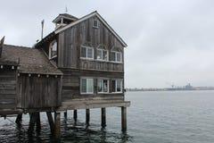 San Diego Bay Restaurant Fotografia de Stock Royalty Free