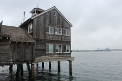 San Diego Bay Restaurant Royalty Free Stock Photography