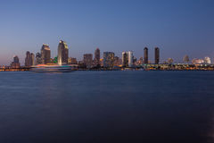 San Diego Bay at Twilight Stock Photos