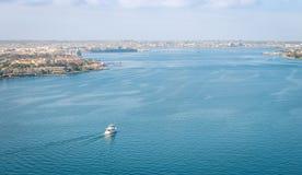 San Diego Bay van Coronado-Brug royalty-vrije stock foto