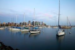 San Diego Bay y horizonte fotografía de archivo libre de regalías