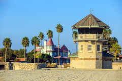San Diego beach in CA Stock Image
