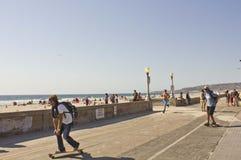 San Diego Beach front promenade Royalty Free Stock Photo